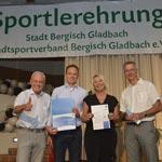 Stadtsportverband gewinnt Auszeichnung