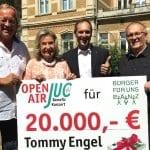 Letztes JUC-Konzert rundet Spenden-Erfolg ab