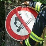 Waldbrandgefahr: Kein Feuer, auch nicht auf dem Friedhof