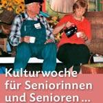 """Die Seniorenkulturwochen gehen 2018 """"in die Vollen""""."""