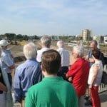 SPD-Fraktion auf Tour: Wie ein Stadtviertel entsteht
