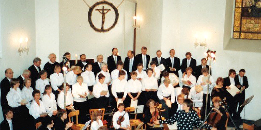 Chor der Gnadenkirche 1988