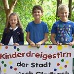Drei fitte Schüler bilden das neue Kinderdreigestirn