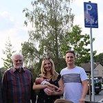 Kreishaus bietet jetzt Mehrgenerationenparkplätze