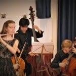 Viel Applaus für AMA-Ensemble und Alinda-Quartett