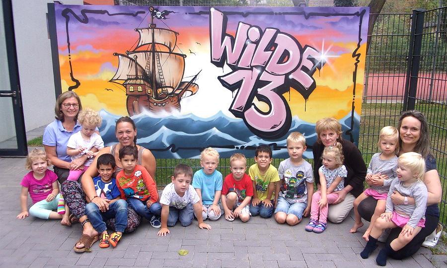 Drk Kindertagesstätte Heißt Jetzt Auch Offiziell Wilde 13