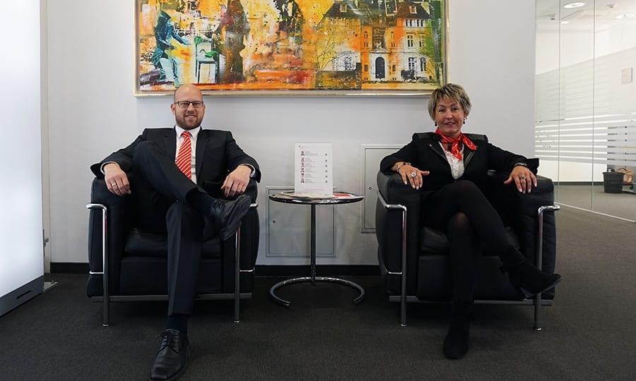 Michael Spahn und Gabriele Fassbender