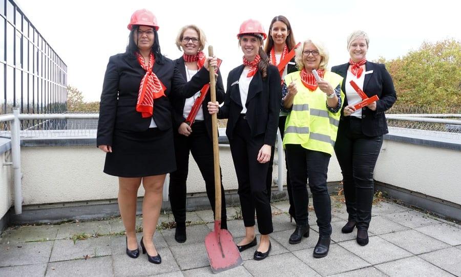 Geballte Frauenpower im Team Baufinanzierung