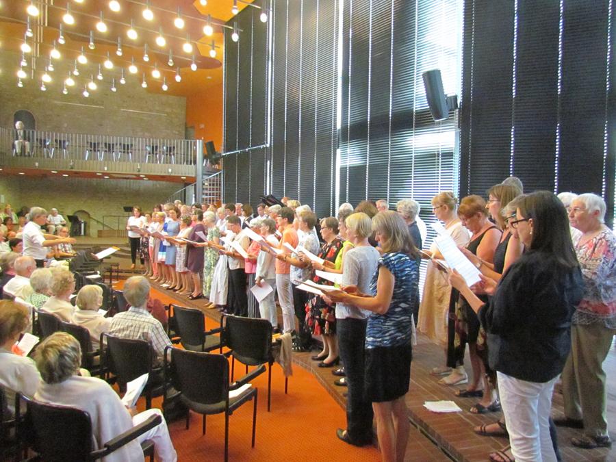 Kirchenchor St Nikolaus Singt Zum 125 Geburtstag Bach