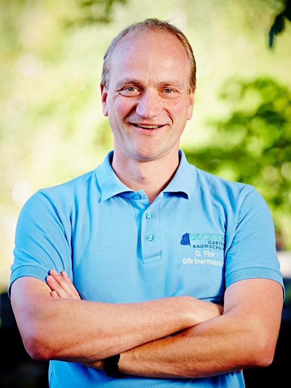 Oliver Fink leitet seit 1995 die GartenBaumschule Becker in Refrath.