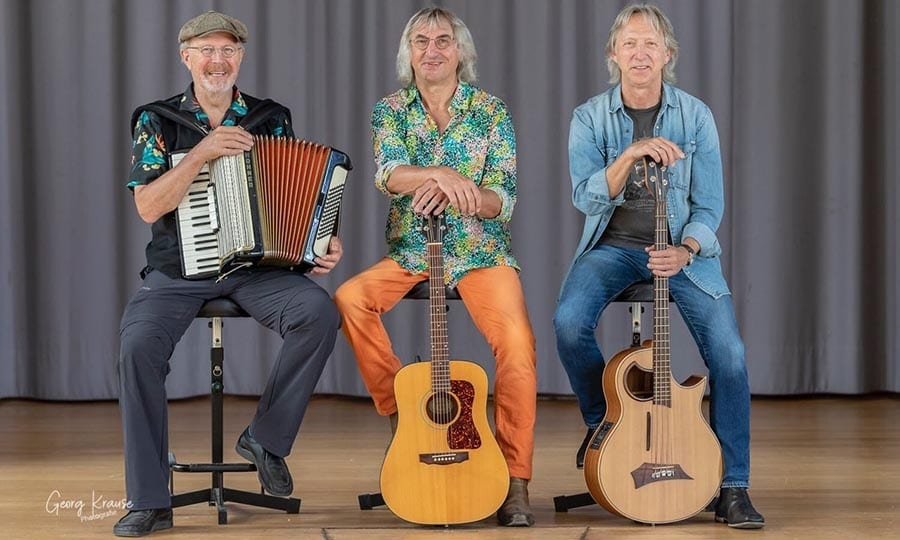 Peter Müller, Wolfgang Geller und Harald Grusa. Foto: Georg Krause
