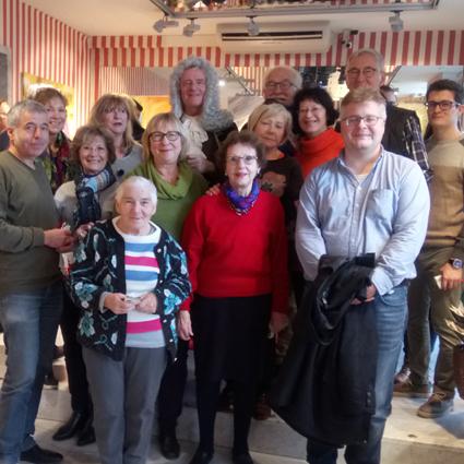 Deutsch-Französische Freundschaft im Weihnachtszauber