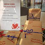 """""""Blind Date"""" mit einem Buch"""