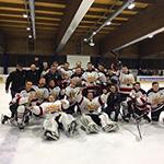 Eishockey: Aufstiegsduell gegen den Vize-Meister