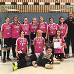 U13-Juniorinnen erreichen Platz 2 hinter Bayer 04