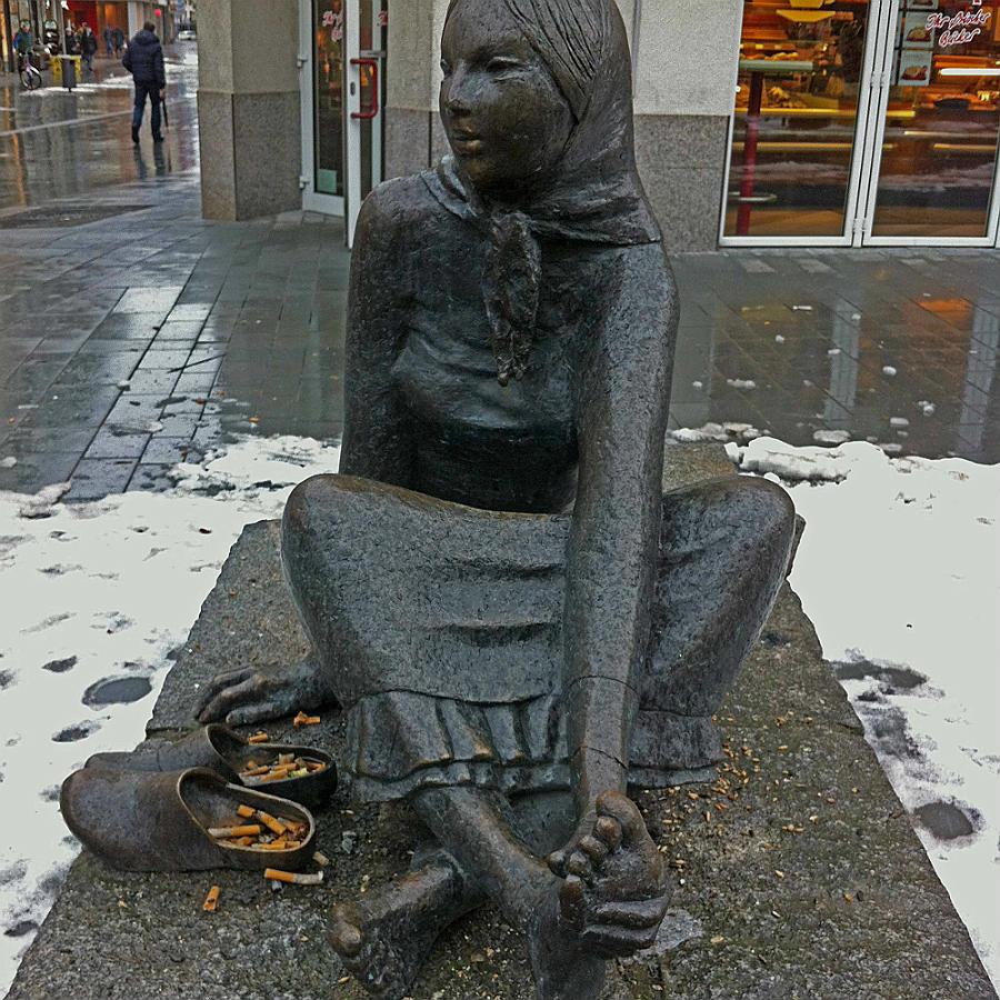 Frauen quirlen überall