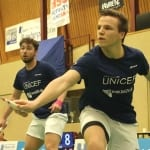 Badminton: Zweimal zwei Punkte gegen starke Gegner