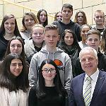 Herkenrather Realschüler besuchen den Landtag