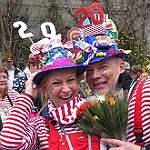 Bensbergs Karnevalszug von vorne bis hinten – im Video