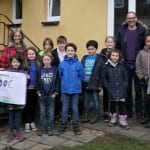 Kinderheim freut sich über Spende von Grundschülern