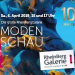 RheinBerg Galerie wird zum Showpalast