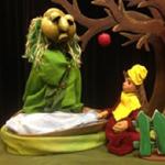 """Der Puppenpavillon zeigt """"Karpfn"""""""