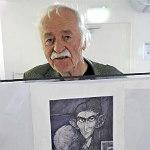 Klare Linie: Walter Hanel stellt in Bensberg aus