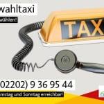 """CDU bietet Wahltaxi an: """"Wir fahren. Sie wählen!"""""""