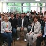SPD-Generalsekretär Klingbeil diskutiert mit Studierenden