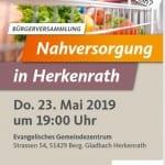 CDU lädt zur Debatte über Herkenraths Nahversorgung