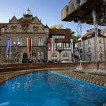 Bild der Woche: Ein Rathaus, nah am Wasser