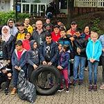 Rotarier trommeln fleißige Müllhelfer zusammen