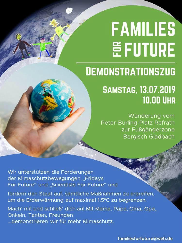 """Fridays for Future"""" in Moitzfeld, Refrath und Gladbach"""