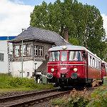 Sülztalbahn fährt noch einmal zum Gronauer Bahnhof