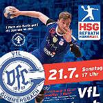Der VfL Gummersbach kommt zur HSG Refrath/Hand