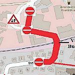 Buchholzstraße wird noch einmal gesperrt