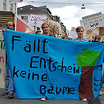 Fridays for Future zeigt in Bergisch Gladbach Flagge