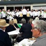 Harmonie Bensberg-Kaule präsentiert sich beim Kaulefest