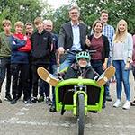 """Projekt """"Rad macht Schule"""" startet mit einem Fest"""