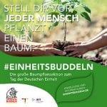 Aufruf der Stadt: #Einheitsbuddeln für das Klima