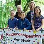 Kinderdreigestirn: In Köln geboren, in Moitzfeld zu Hause