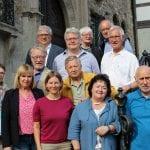 Gäste aus Marijampole und Runnymede beim Stadtfest