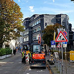 Laurentiusstraße wird noch einmal voll gesperrt