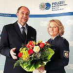 Eine Frau rückt an die Spitze der Kreispolizei RheinBerg