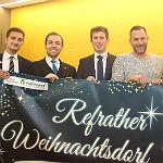 Aus Refraths Winterdorf wird ein Weihnachtsdorf