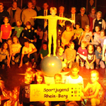 """Sport meets Circus"": Schüler begeistern die Zuschauer"