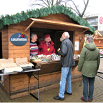 Der Obst- und Gartenbauverein im Weihnachtsdorf