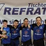 Tischtennis: Spieldramatik spiegelt Oberliga-Auftritt des TV Refrath
