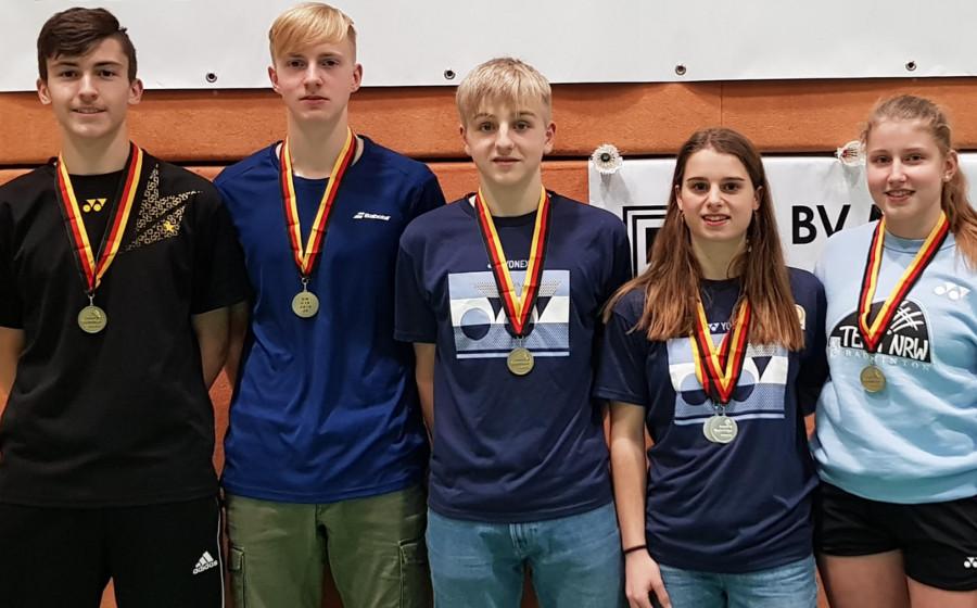 TV Refrath holt bei Deutscher Meisterschaft fünf Medaillen