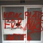 Farbanschlag auf AfD-Büro in der Innenstadt